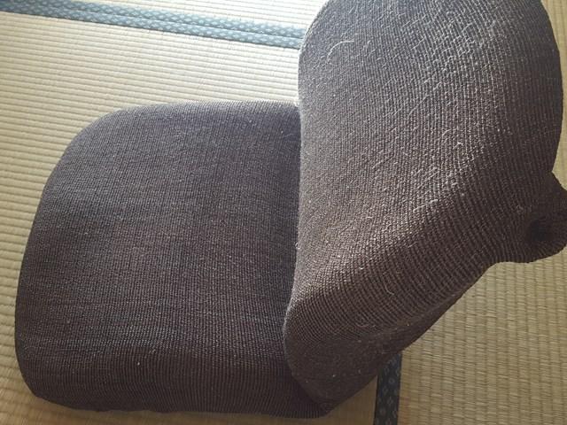 体にフィットするコンパクト座椅子 ニトリ