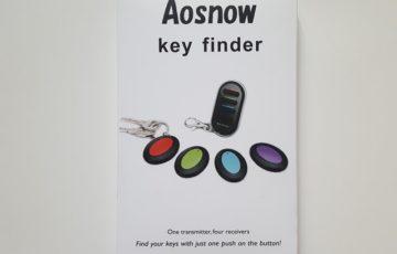 Aosnow キーファインダー 感想