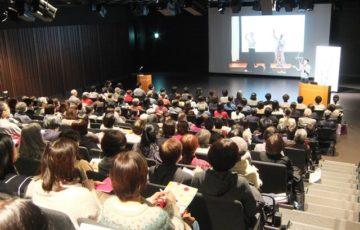 札幌市民交流プラザでの認知症介護講演会