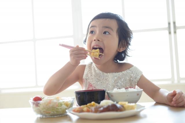 子どもの朝食